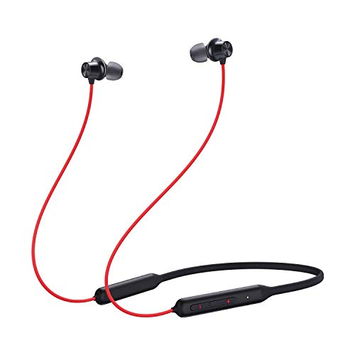 OnePlus Bullets in Ear Wireless Z Bass Edition with Mic (Reverb Red)