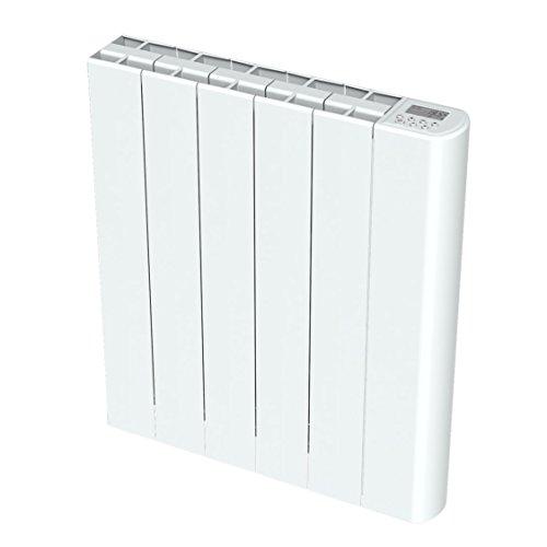 Cayenne NELIA10 NELIA Radiateur à inertie, 1000 W, Blanc Brillant