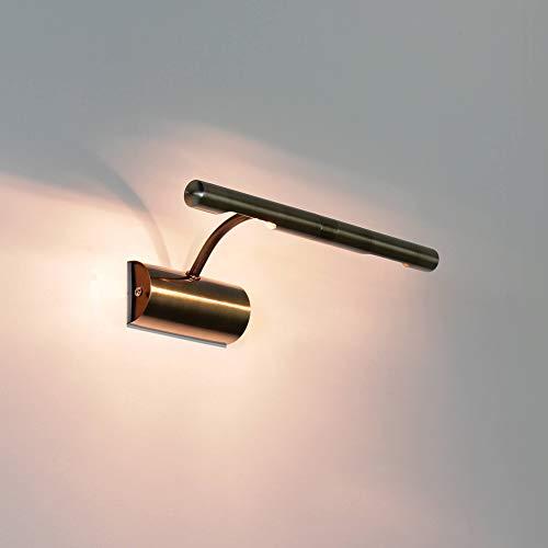 Bilderleuchte Bilderlampe in Bronze G9 Halogen Bilderbeleuchtung Lampe Leuchte 3644
