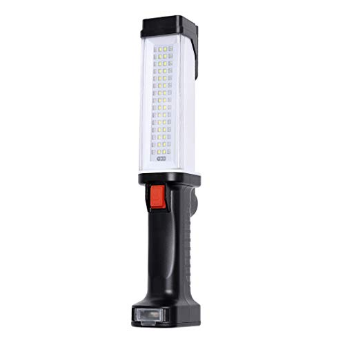 Led Work Light 1000 Lumens Cordless Portable handheld USB Rechargeable Magnetic Flashlight for Car Underhood Repair, Garage, Camping