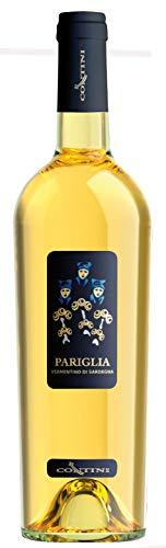 CONTINI Vino Bianco VERMENTINO DI SARDEGNA DOC PARIGLIA BOTT 75 CL - IMBALLO DA 6 BOTTIGLIE DA 75 CL