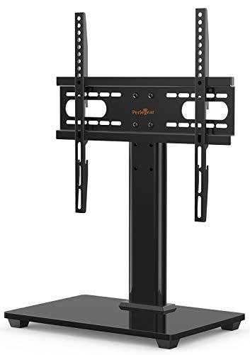 TV Standfuß, TV Ständer für 26-55 Zoll OLED LCD Flach & Curved Fernseher oder Monitore bis zu 40kg. Max.VESA 400x400mm