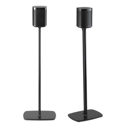 Flexson Floor Stands for Sonos One - Pair (Black)