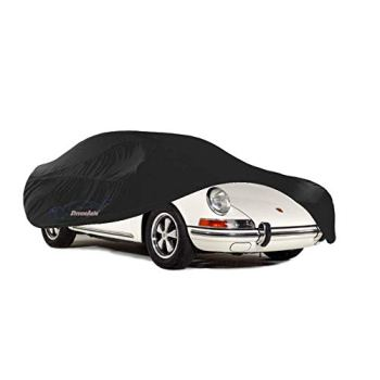 Xtremeauto Indoor Classic Breathable Soft Car Cover For Porsche 911 Turbo (Black)