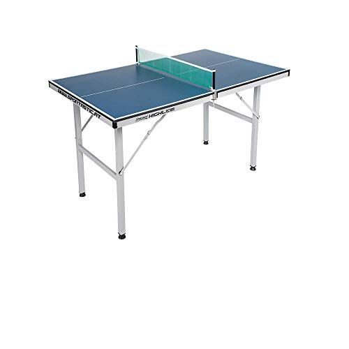 Mini Tischtennistisch - zusammenklappbarer Tisch, für Wohn- und Kinderzimmer geeignet