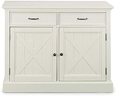Amazon Com Seaside Lodge White Buffet By Home Styles Buffets Sideboards