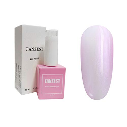 FANZEST Gel Nail Polish UV Gel No Chip Soak Off Nail Gel Polish Manicure Pedicure