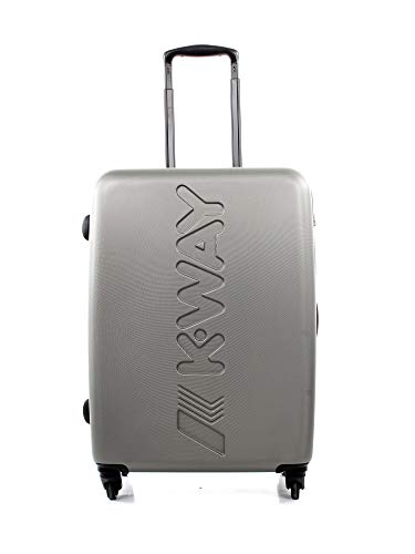 Trolley K-Way k-air medium size spinner grey