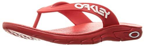 Oakley Sandalias B1B Flip para hombre, rojo (Rojo (High Risk Red)), 46 EU
