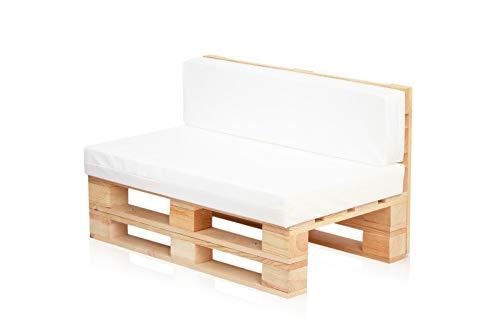 Conjunto Sofa DE PALETS + Set Cojines (Asiento + Respaldo) (