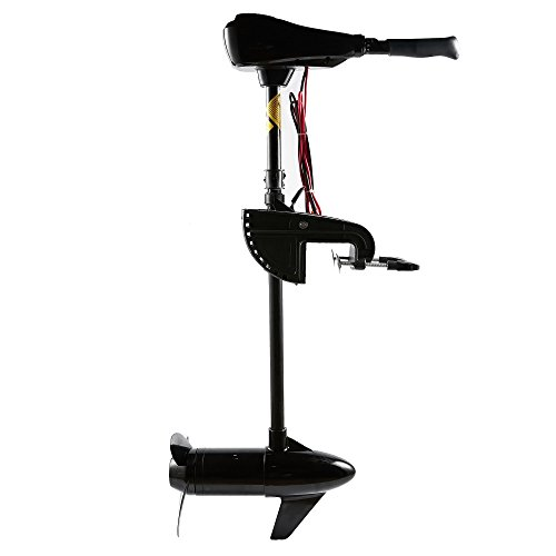 Cloud Mountain Finefind 55LBS Thrust Electric Trolling Motor for Fishing Boats Freshwater and Saltwater Use