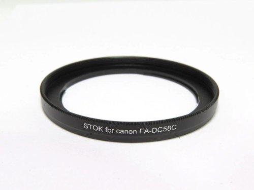 Canon G1X 用 金属製フィルターアダプター FA-DC58C互換品