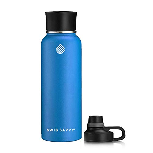 6. Swig Savvy Bottles 30oz / 40oz Stainless Steel Insulated Water Bottle