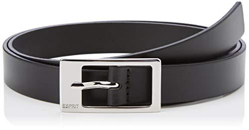 ESPRIT Accessoires Damen 999EA1S806 Gürtel, Schwarz (Black 001), 6641 (Herstellergröße: 90)