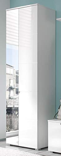 AVANTI TRENDSTORE - Spilla - Arredamento da Ingresso Elegante, in Laminato di Colore Bianco Opaco...