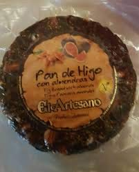 Pan de higo con almendras - 200 g - Marca El Artesano - Dulc