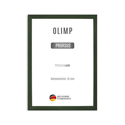 OLIMP PRORSUS 35mm Cornici per puzzle 37,5 x 98 cm, colore: Verde Sfocato, Cornice in MDF fatta a...