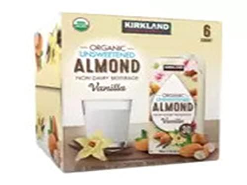 Kirkland Signature Organic Almond Unswtd Beverage, 192 fl. oz.