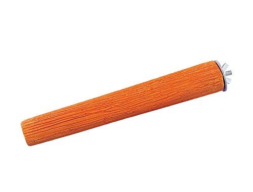 Nobby Mineral Stones Sitzstange orange 22,0 cm; 290 g