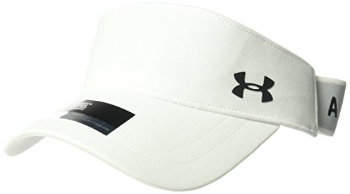 Under Armour Women's Renegade Visor, White (100)/Black, One Size Fits All