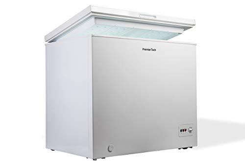 Premiertech Congelatore a Pozzetto 200 litri con cestello e ruote -24gradi A++ 4**** Stelle PT-CP200