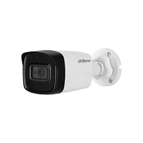 Dahua - Cámara de videovigilancia para exteriores HD Dahua CVI 5 MP 2.8 mm Audio - HAC-HFW1500TL-A