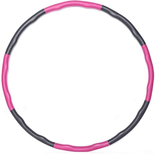 KOVEBBLE Hula Hoop Reifen für Erwachsene und Kinder, Hoola Hoop Reifen zur Fitnessübungen, Gewichtsabnahme,...