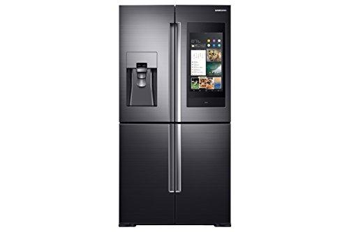 Samsung 810 L Frost Free Side-by-Side Refrigerator(RF28N9780SG/TL, Black, Inverter Compressor)