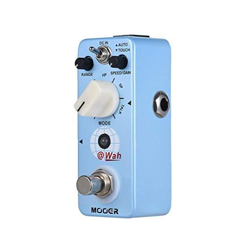 Digital Auto Wah Guitar Effect Pedal 5 Modes True Bypass Full Metal Shell Instrument Supplies