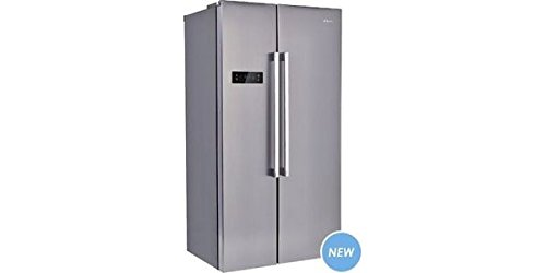 Candy CXSN 172 IXH Freestanding 503L A+ Stainless steel side-by-side refrigerator - Side-By-Side...