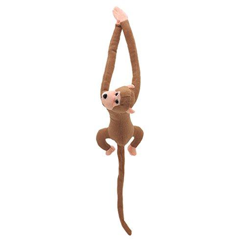 Xuniu Brazo Largo Cola Mono muñeca de Peluche Juguetes, Win