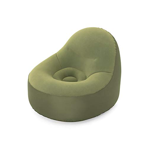 Bestway 75082   Poltrona Gonfiabile ToughPod, 105X98X76 cm, Verde
