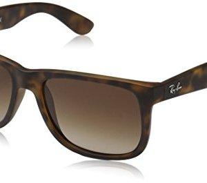 Ray-Ban RB4165 Justin Rectangular Sunglasses 39