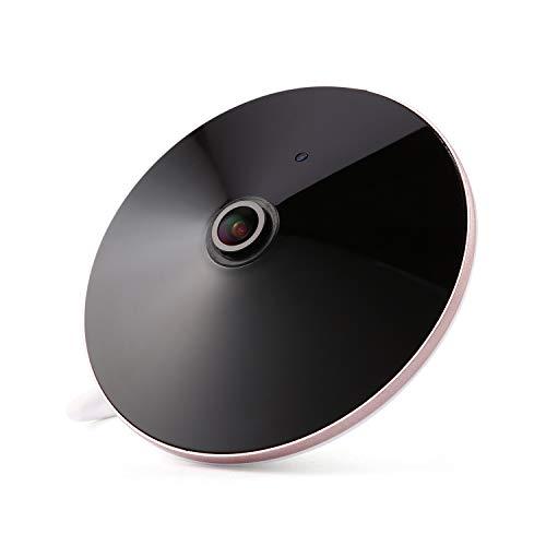 Revotech - POE 1080P Ojo de pez panorámico 1.44 mm Lente interior 2.0MP Cámara IP de audio HD Cámara de videovigilancia IP de 18 LED Cámara de CCTV de visión nocturna P2P ONVIF