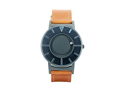 eone Bradley Voyager II Cobalt Unisex Uhr aus Edelstahl mit ital. Lederarmband