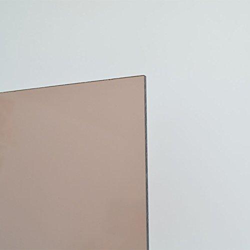 5mm Acrylglas Platte 100x70 cm Rauchglas braun getoent