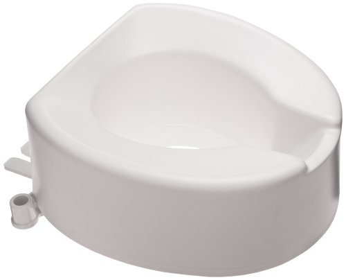 SP Ableware Maddak Tall-Ette 6-Inch Elongated Elevated Toilet Seat (725831006), white