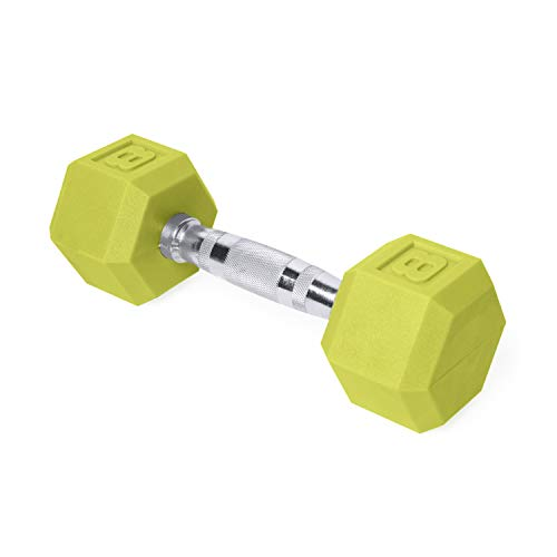 CAP Barbell Mancuerna Hexagonal de Color, Individual