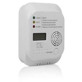 Smartwares Détecteur de Monoxyde de Carbone - Capteur 7 ans - Pile 1 an Incluse