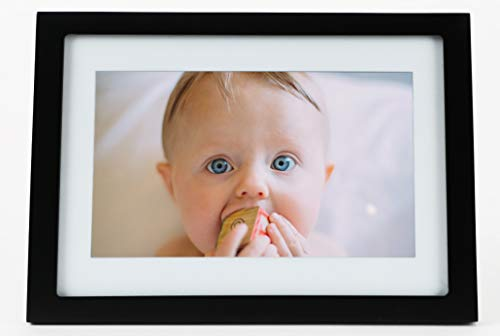 Skylight Frame: 10 inch WiFi Digital Picture Frame, Email Photos...