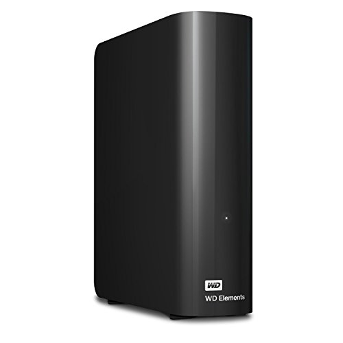 Western Digital WD Elements Hard Disk Esterno, Desktop, USB 3.0, 6 TB