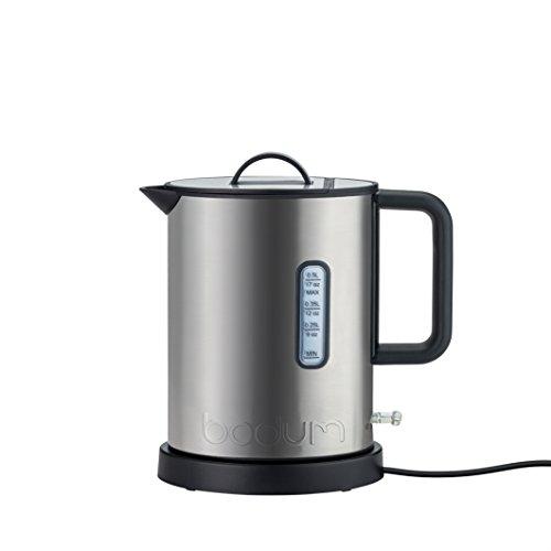 Bodum 11786–57euro Ibis Elektrischer Wasserkocher, 720W, 0,5l, chrom matt