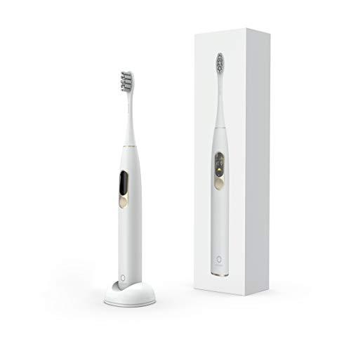 Oclean X Schallzahnbürste Elektrische Smart Zahnreiniger Stärke mit 32 Stufen Einstellbar Kundenspezifisches Modell APP Berührungsbildschirm