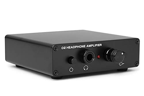 DROP Massdrop Objective 2 Headphone Amp: Desktop Edition Amplifier (Medium), Black (MDX-3636-5)