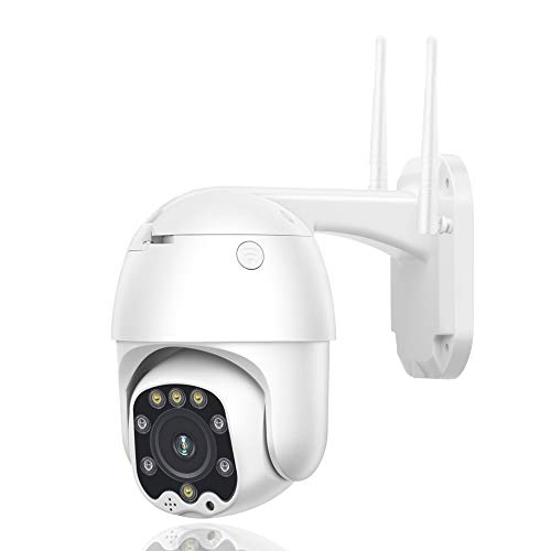 Telecamera IP 1080P CCTV Camera 3G 4G Sim Card Wireless PTZ IP 5MP HD Security Outdoor Surveillance Two Way Audio IR/Visione notturna/IP66 Impermeabile/per Esterni/Garage/Azienda 1080P4GVersion