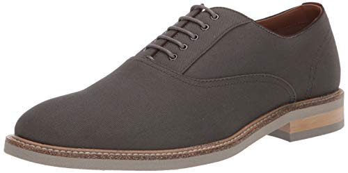 Steve Madden Men's Carsen Oxford, Grey Fabric, 12 M US