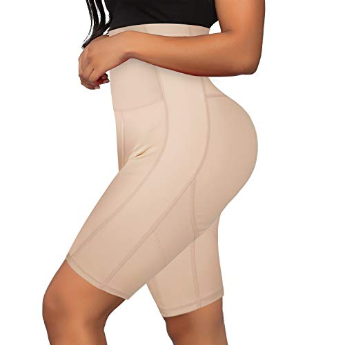 Irisnaya Waist Trainer for Women Shapewear Tummy Control Butt Lifter Panty High Waisted Body Shaper Shorts Thigh Slimmer