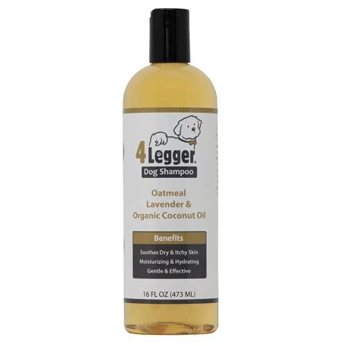 4Legger Organic Oatmeal Dog Shampoo with Aloe and...