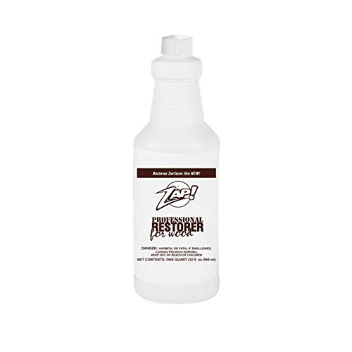 Zap Professional Wood Cleaner and Restorer - 32 oz Bottle - Clean,...