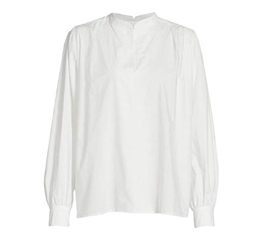 Cotton / Viscose Pullover Style Long Puff Sleeves